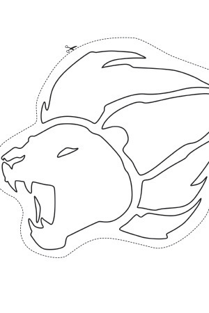 Mark of the Guard Colouring Sheet