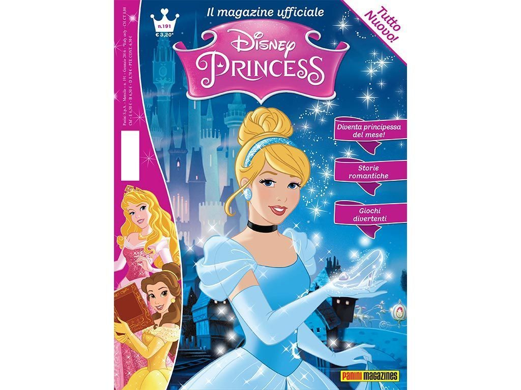 """Disney Princess magazine è tutto nuovo!"""""""