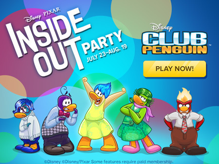 Club Penguin - Inside Out Party