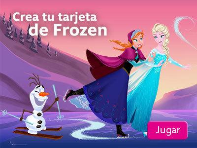 Frozen holiday card creator juegos disneylatino for Crea tu mural disney
