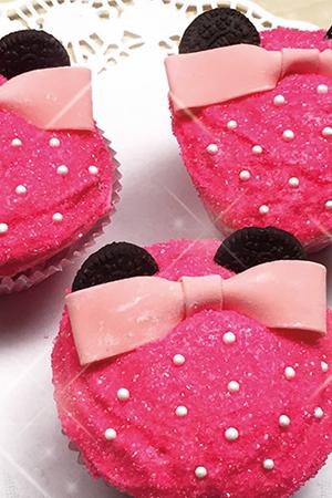 Minnie Cupcake Recipe