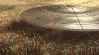 Weequay Saucer Ship