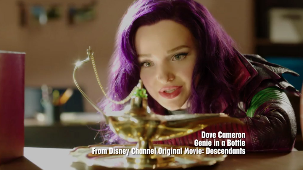 Descendants: Wicked World | Dove Cameron – Genie in a Bottle MV