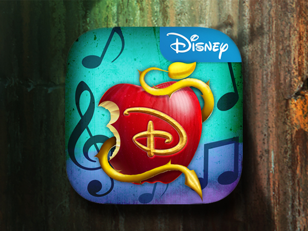 Speel de Disney Karaoke: Descendants app!