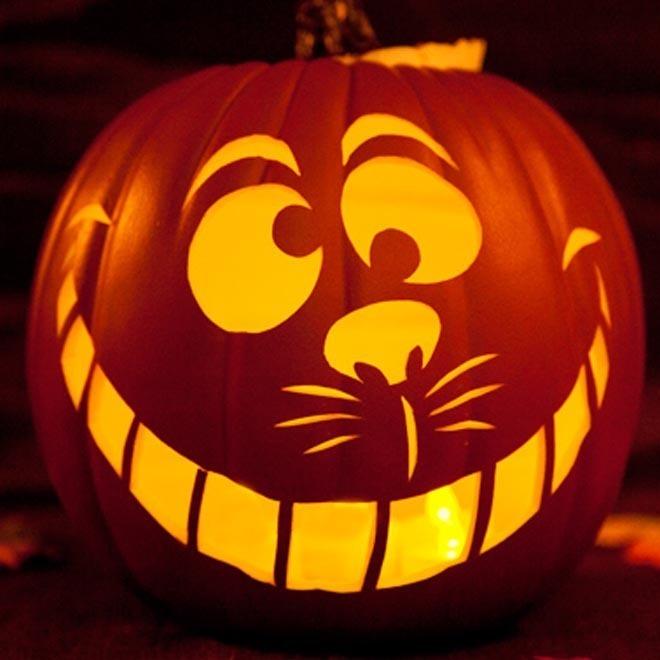 Cheshire Cat Pompoen