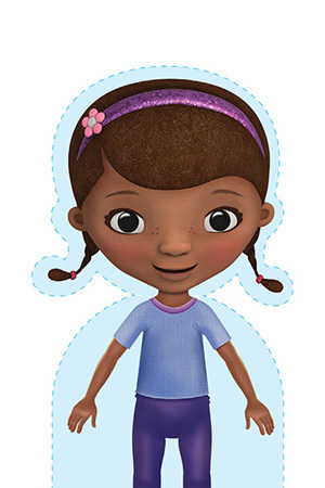 Doc McStuffins School of Medicine Paper Doll