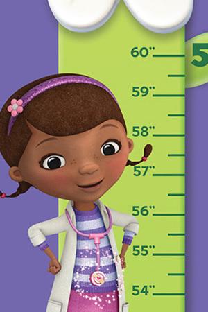 Doc McStuffins Height Chart