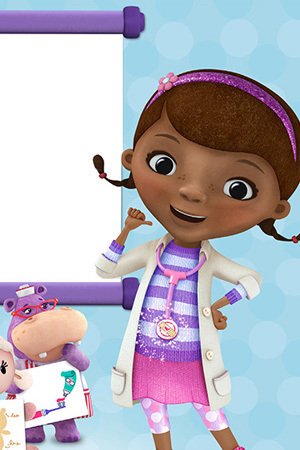 Doc McStuffins and Her Animal Friends Poster | Zazzle.com |Doc Mcstuffins Poster