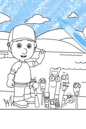 Handy Manny - Can You Find