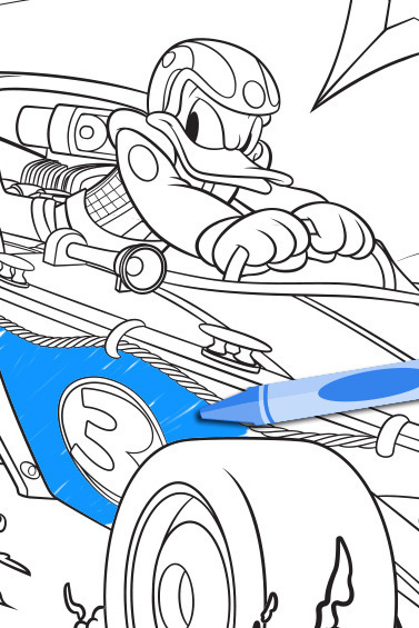 Mickey Roadster Racers Donald