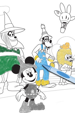 Mickey Wizard of Dizz 2
