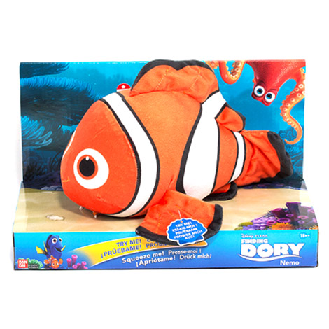 Talking Plush Nemo