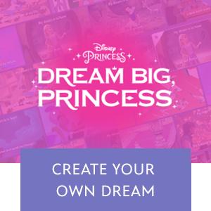 Dream Big Princess Mini Hero - SG Wide
