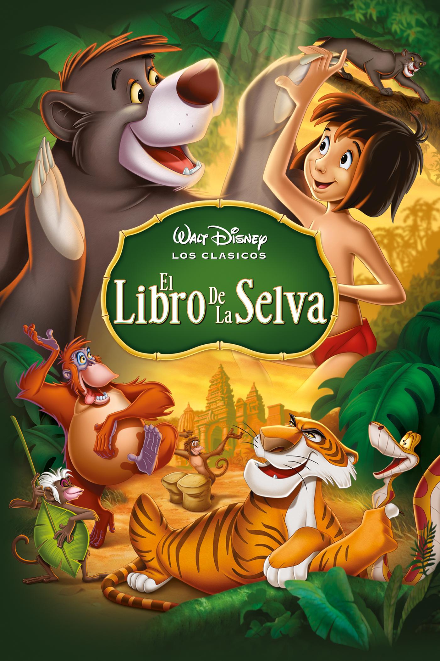 El libro de la selva | Películas Disney España