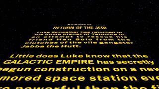 Star Wars: Episode VI Return of the Jedi - Opening Crawl