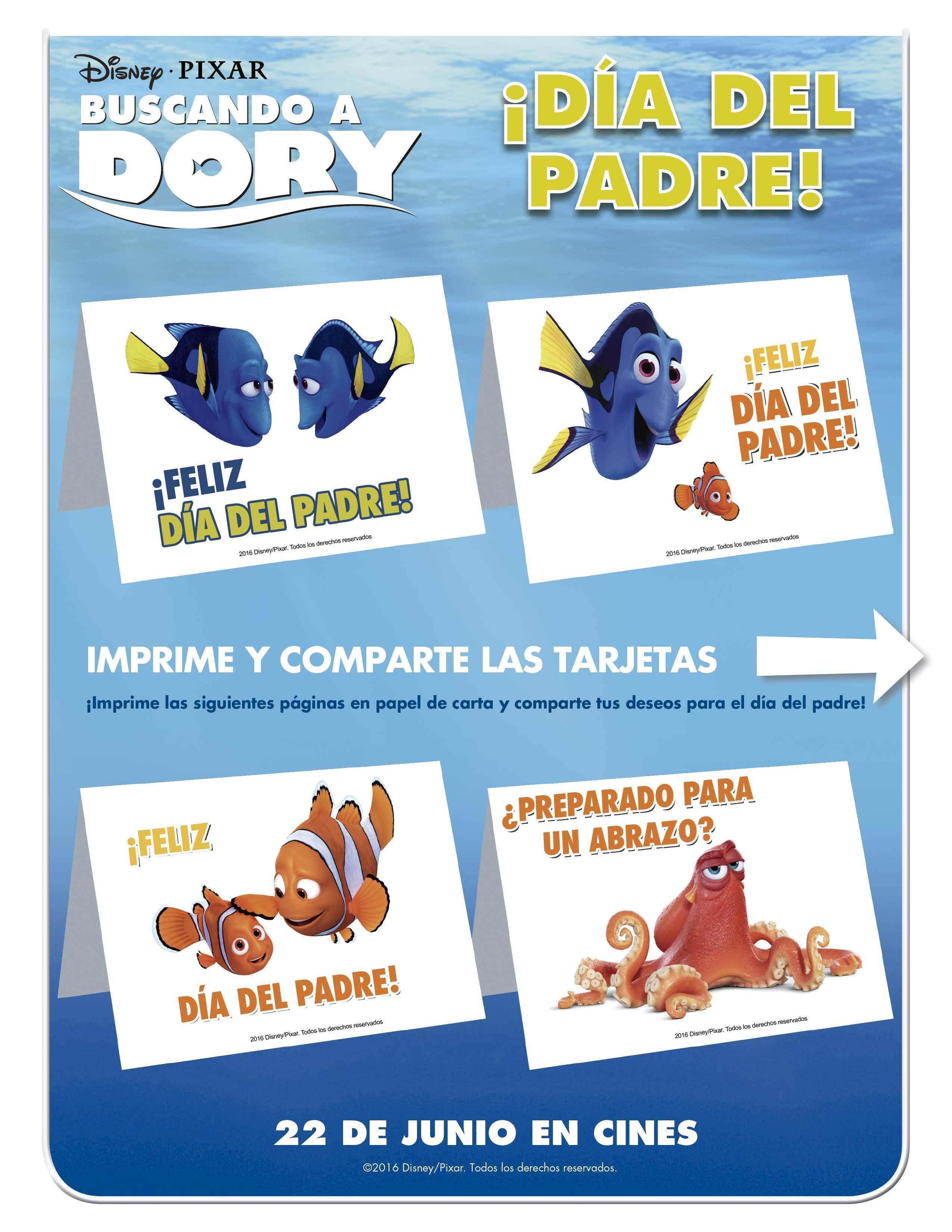 Buscando a Dory - Día del Padre