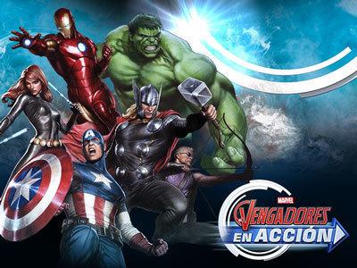 Los Vengadores en Acción