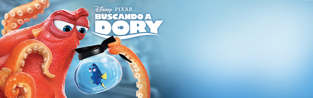 Finding Dory DVD - Homepage (hero)