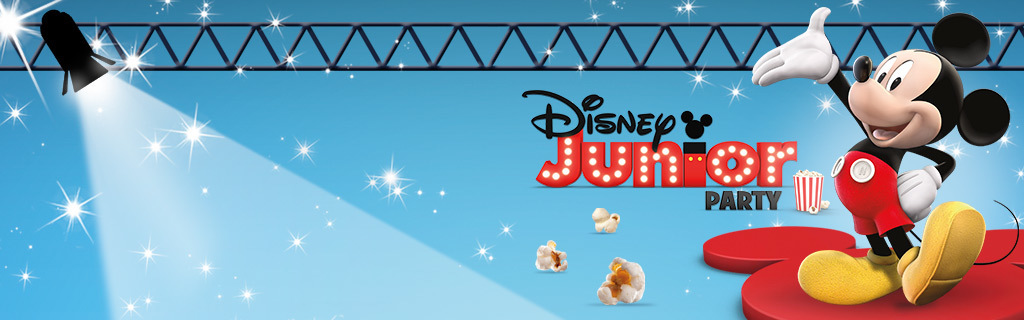 Disney Junior - Dress Up Party - Homepage Hero