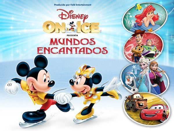 Concurso Disney On Ice - Mundos Encantados