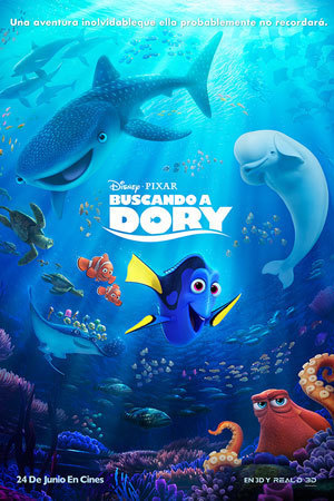 Finding Dory - Poster
