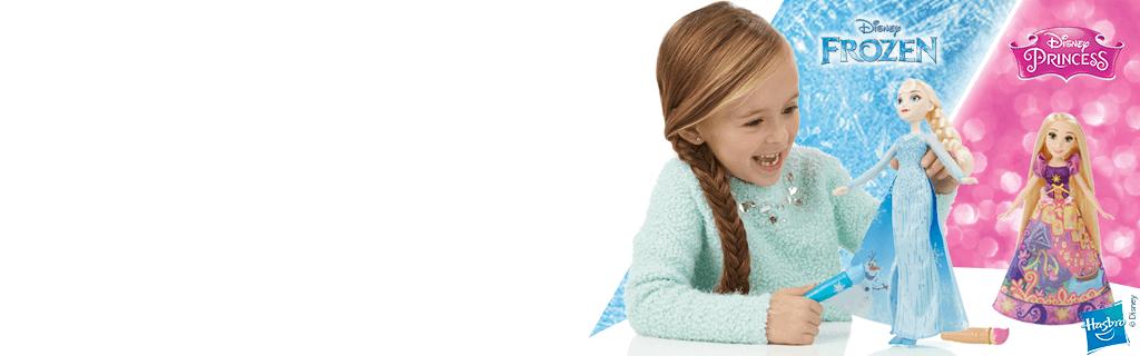 DM+: Hasbro Frozen + Princess - Homepage (hero)