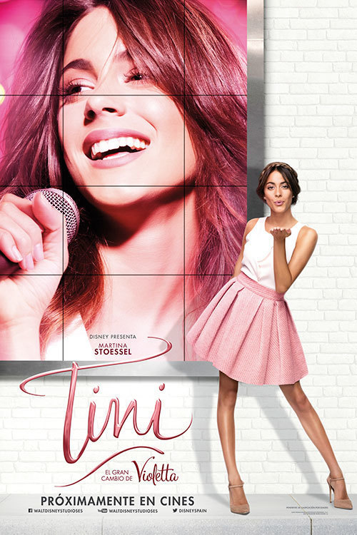 Tini, el gran cambio de Violetta - Poster