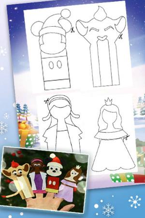 Disney Junior Natale - Piccoli pupazzi