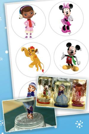 Natale a Disney Junior - Palle di neve natalizie