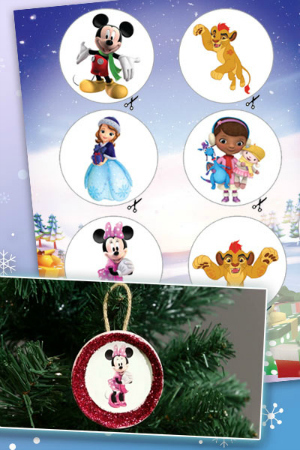 Natale a Disney Junior - Decorazioni natalizie