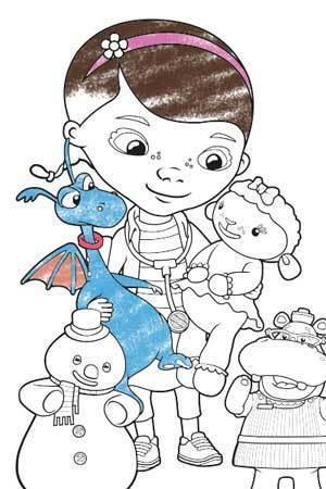 Η μικρή Γιατρός και οι φίλοι της