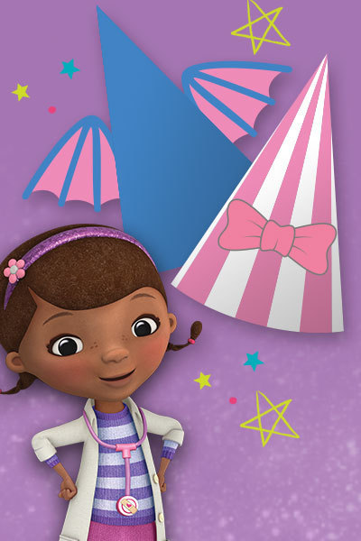 Doc McStuffins - Party Hats