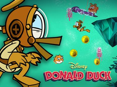 Donald Duck i Treasure Frenzy