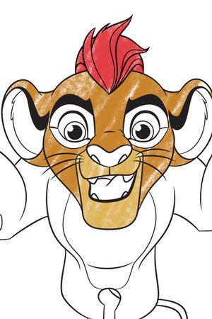Kion Colouring