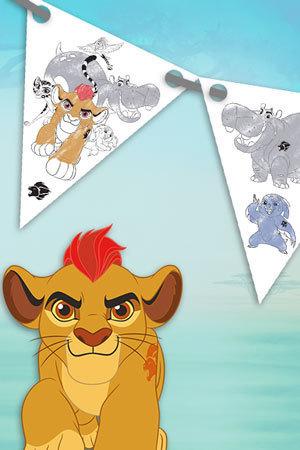 Steag pentru petrecere Garda Felină