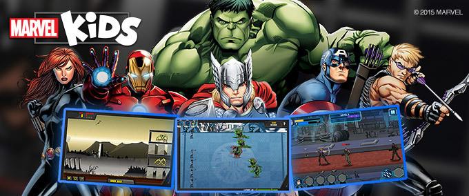Marvel Kids - Tutti i giochi!