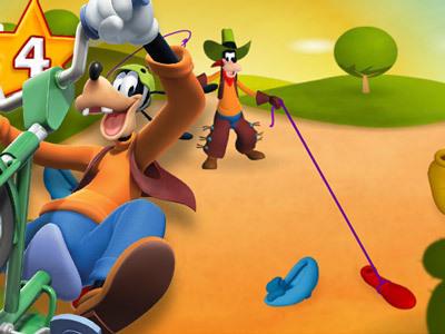 Goofy's Wildshoe Round-up