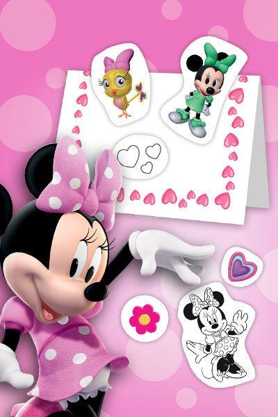 Tarjeta del Día de la Madre de Minnie