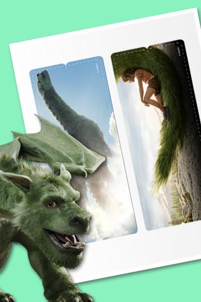 Peter y el Dragón - Marcapáginas