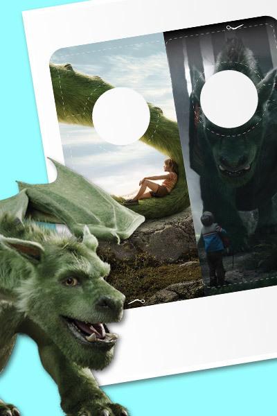 Peter y el Dragón - Adornos para puerta