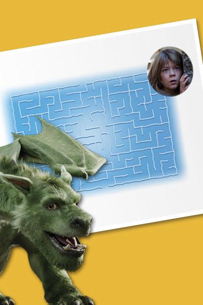 Peter y el Dragón - Laberinto