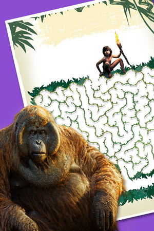 El Libro de la Selva - El laberinto de Mowgli