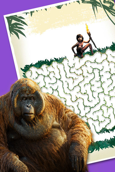 Djungelboken - Mowglis djungellabyrint