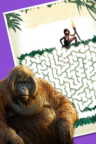 Jungelboken - Mowglis jungel-labyrint