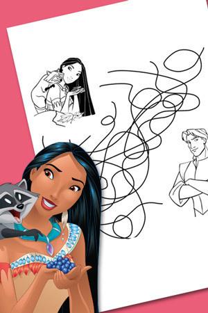 Pocahontas zoekt de weg