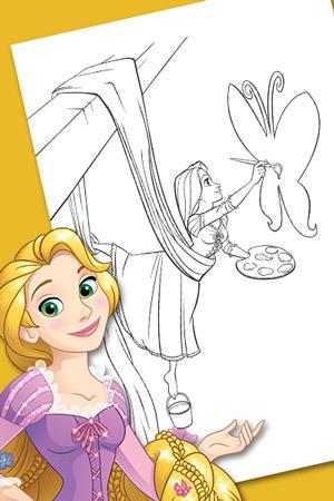 Actividad de Rapunzel