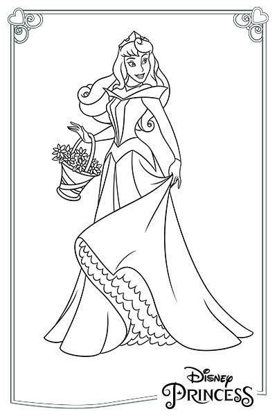 Aurora con il cersto di fiori