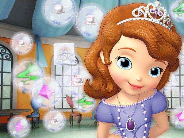 Infestazione di bolle a corte - Sofia la principessa