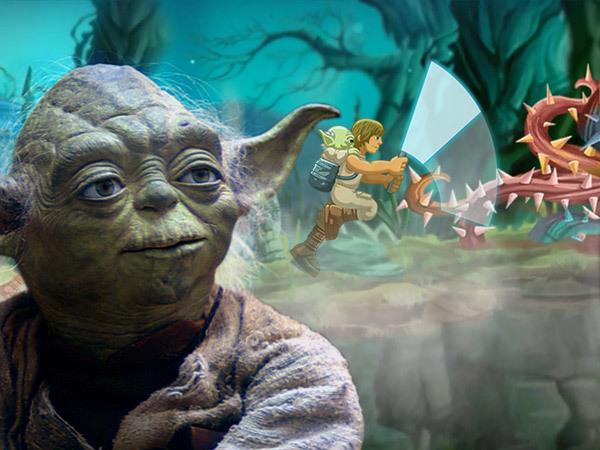 Star Wars Arkade - Yodas Jeditrening