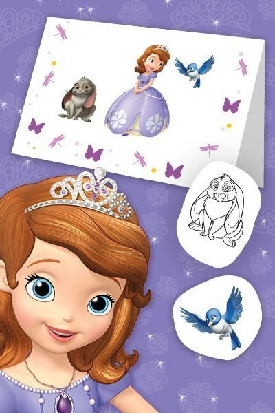 Sofia the First Mother's Day Card